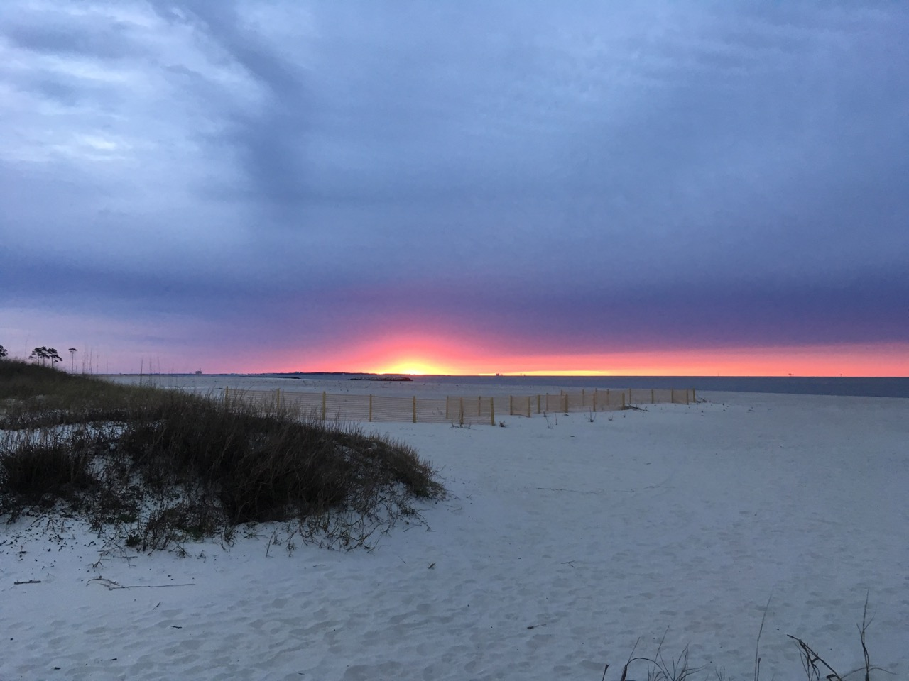Dauphin Island, Alabama sunrise