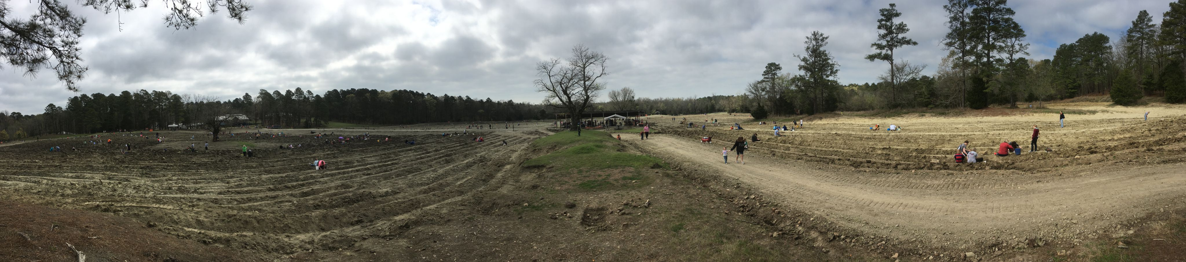 Crater of Diamonds Panorama