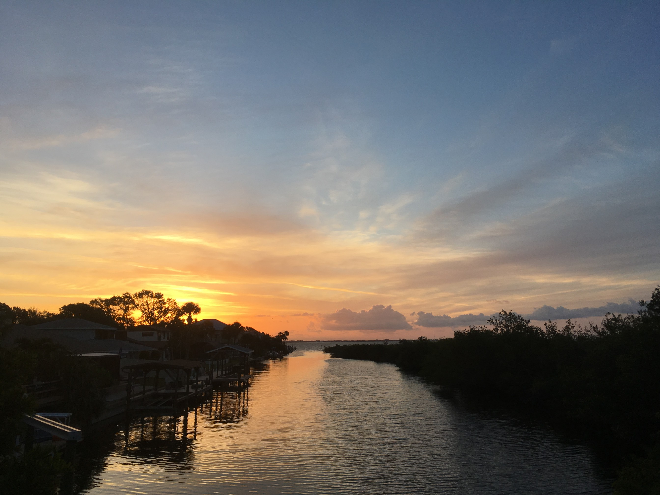 sunrise on Merritt Island