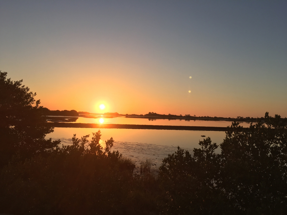 sunrise on Cedar Key